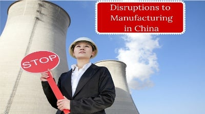 3 Disruptions to Manufacturing in China