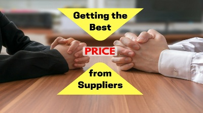 getting the best price from suppliers