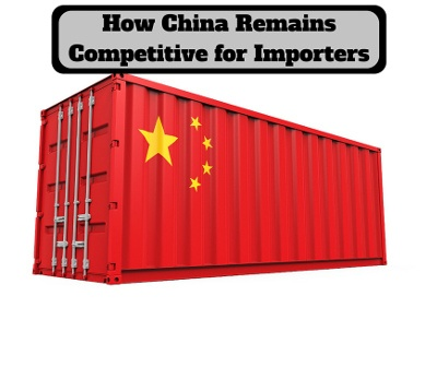 China remains competitve for importers