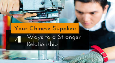 your chinese supplier