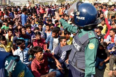 Bangladesh garment strike
