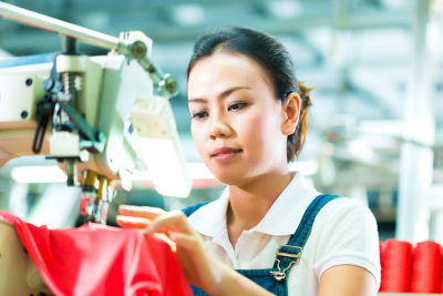 Cambodia garment factory