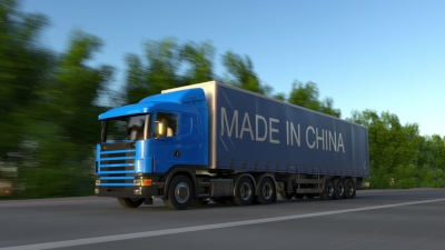 china cuts trucking time with TIR