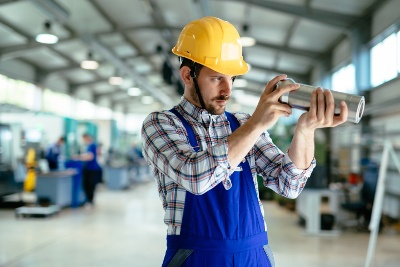 Quality control inspection helps identify product defects