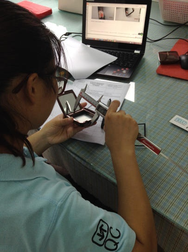 cosmetics inspection