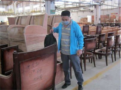 product inspection furniture