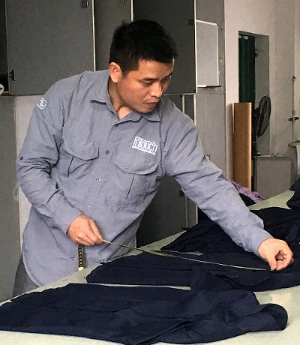 product inspection garments