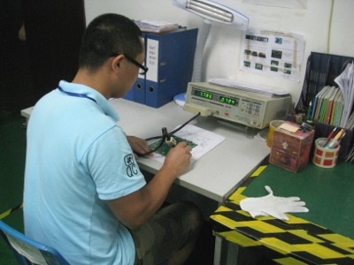 product inspection tablet pc
