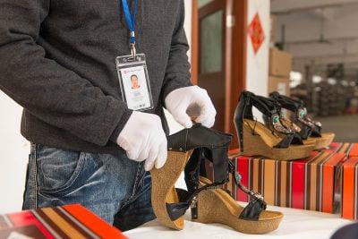 Footwear inspection