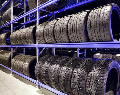 car tire inspection
