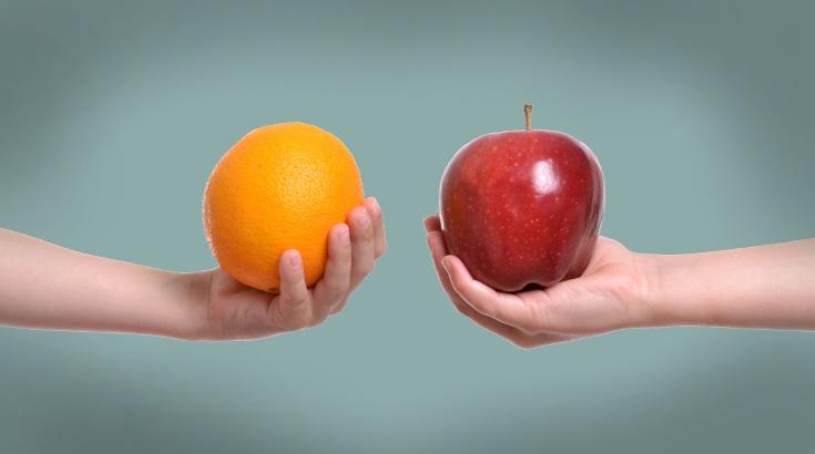 comparing-apples-and-oranges